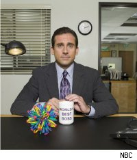 Steve Carell as Michael Scott -