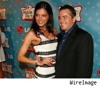 Adrienne Curry and Christopher Knight