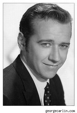 A George Carlin publicity photo from the 1960s