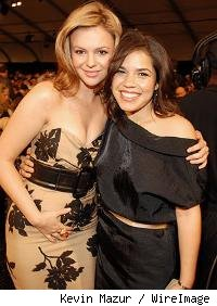 Amber Tamblyn and America Ferrara 