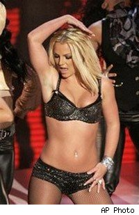 Britney Spears at the MTV VMA Awards