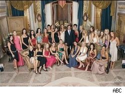 The season 1 cast photo of The Bachelor