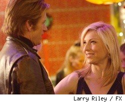 Denis Leary and Tatum O'Neal