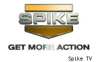 Spike TV logo Get more action 