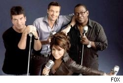 The Big Four of American Idol -- Simon, Ryan, Randy and Paula