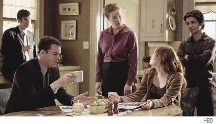 Peter Krause, Michael C. Hall, Frances Conroy, Lauren Ambrose, and Freddy Rodriguez