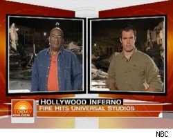 Team coverage of the Universal fire