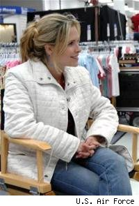 Sally PRessman filming AW