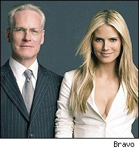Tim Gunn and Heidi Klum - Bravo