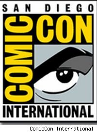 The San Diego Comic Con logo. Makes me want to put on a cape and fight crime. Or, just put on a cape.