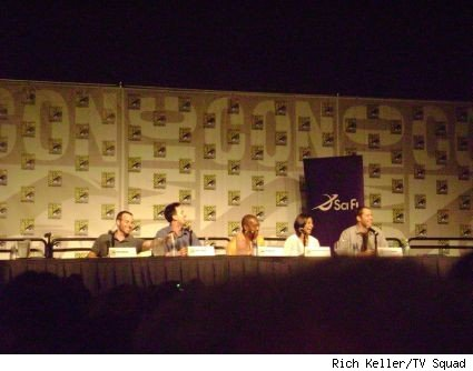 The panel of SciFi's Eureka