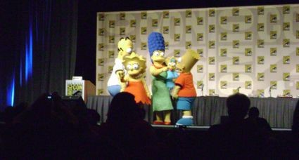 The Simpsons from the Futurama and Simpsons Panels at Comic-Con 2008