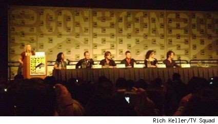 The cast of Supernatural at Comic-Con 2008