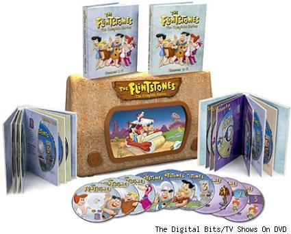 Flintstones DVDs