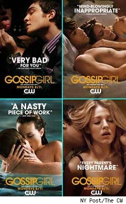 Gossip Girl ads
