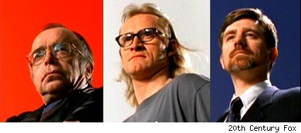 Tom Braidwood, Dean Haglund, and Bruce Harwood - The Lone Gunmen