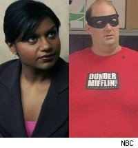 Mindy Kaling Brian Baumgartner The Office