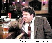 George Wendt as Norm Peterson on Cheers