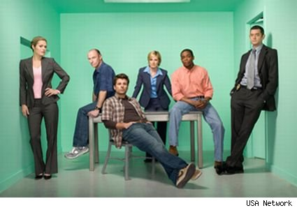 The current cast of USA's Psych