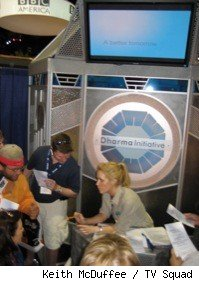 dharma initiative booth