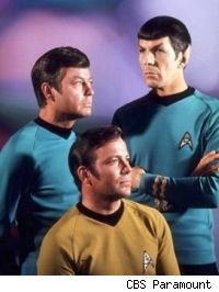 Star Trek - Kirk, Bones and Spock