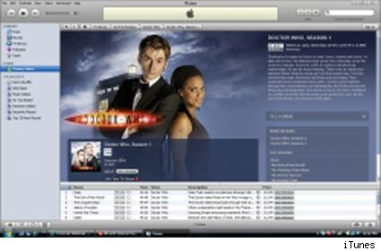 Doctor Who comes to iTunes in the U.S.