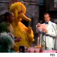 Will Arnett on Sesame Street