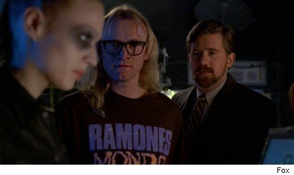 Kristin Lehman, Dean Haglund, Bruce Harwood - The X-Files 