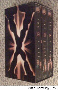 The X-Files on VHS