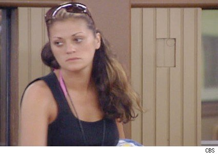 Michelle has fun in the BB10 house
