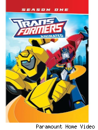 transformers animated dvd