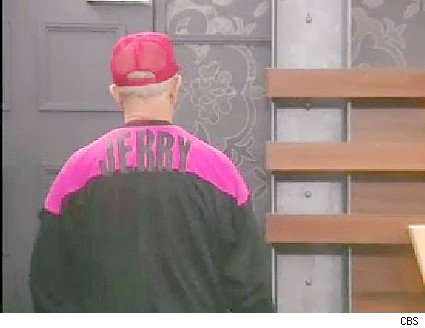 Why was Jerry in the pink for the PoV comp?