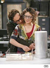 Johnny Galecki & Sara Gilbert