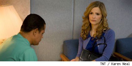 Kyra Sedgwick and Raymond Cruz - The Closer