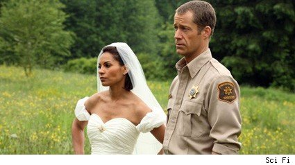 Salli Richardson and Colin Ferguson - Eureka