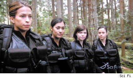 Christina Cox, Janina Gavankar, Nicole de Boer, Leela Savasta - Stargate Atlantis