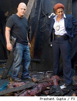 Michael Chiklis and CCH Pounder