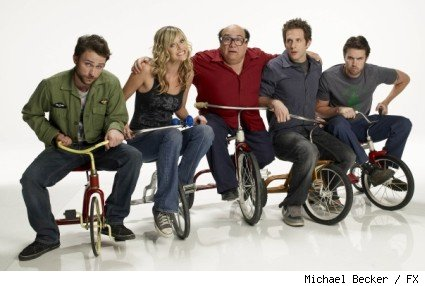 Cast of It's Always Sunny in Philadelphia