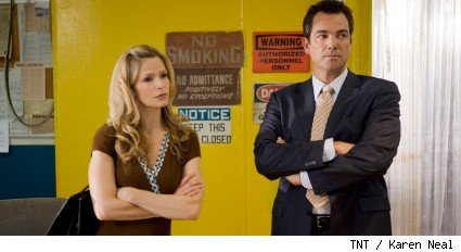 Kyra Sedgwick and Jon Tenney - The Closer