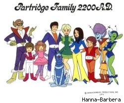 The cast of Partridge Family 2200 AD