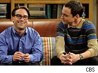 Leonard and Sheldon on The Big Bang Theory