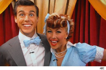 Cody Linley and Julianne Hough - Dancing With The Stars