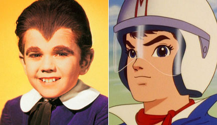 Eddie Munster and Speed Racer