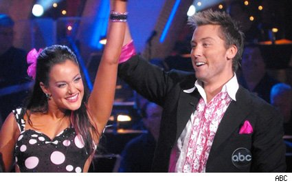 Lacey Schwimmer and Lance Bass - Dancing With The Stars