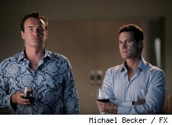 Julian McMahon and Dylan Walsh star in FX's 'Nip/Tuck.'