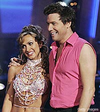 Rocco DiSpirito and Karina Smirnoff