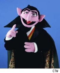 Unless you're afraid of numbers, Sesame Street's The Count is pretty benign.