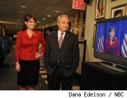 Sarah Palin and Lorne Michaels