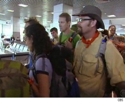 Another airport fiasco on The Amazing Race