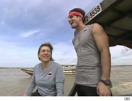 Toni and Dallas, mother and son team on The Amazing Race